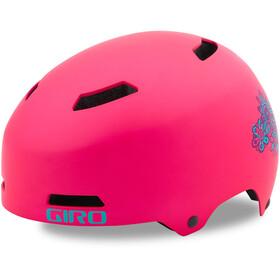 Giro Dime FS Casque Enfant, matte bright pink blossom